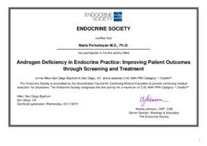 Androgen Deficiency in Endocrine Practice